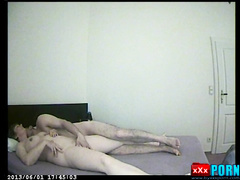 Hot wife changed her husband. Anal with a young lover
