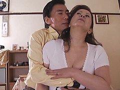 Chizuru Iwasaki hot mature gets messy cumshot