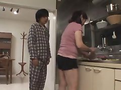 censored asian mature sex in shorts and pantys