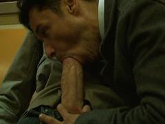 Big Dick Subway Train Sex