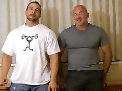 older daddy fucks a hot bodybuilder