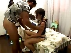 Brazilian Teen in Anal Rampage