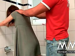 MMV Films Sexy German housewife loves a big cock