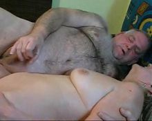 Bisex cum on blondie woman tits