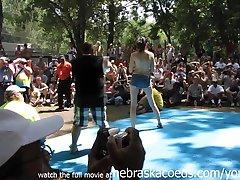 Chicago Amateur Oil Wrestling at Nudist Resort
