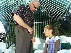 Tiny Girl is here to clean Rod s pool.Full movie.F70
