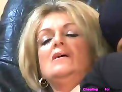 Honeyed mature prosti with a comforting face flower, Karola, eats a hunk's spunk