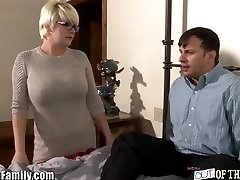 Mom Tests Cock out For Teen Daughter