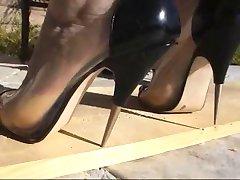 Piercing heels