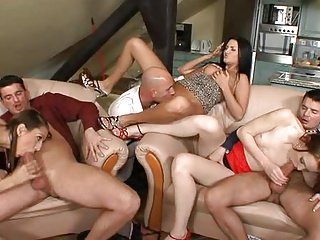 jANE in Swingers' Orgies