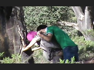 Hidden cam Arabian outdoor sex