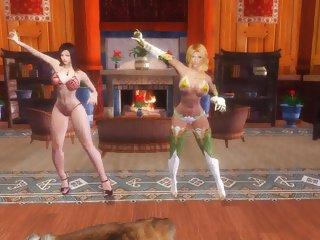 Skyrim - Sexy Dance #22