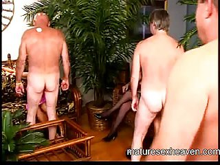 Granny's Mature Sex Party Part 1