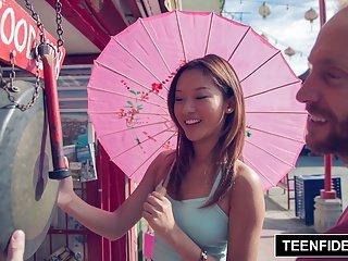 TEENFIDELITY - Alina Li Big Trouble in Little Va'China