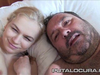 PUTA LOCURA Cute Pale Czech Teen
