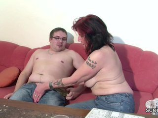 Mother Give German Step-Son First Fuck