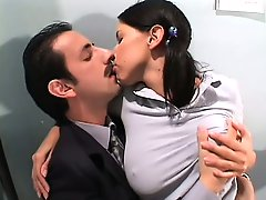 Horny coed seduces her teacher and gets him to lick and ass fuck her