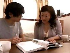 Mature Asian Teacher Fucks Her Student